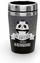 Preis am Stiel Thermobecher to go Käffchen Panda