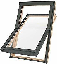 Preishammer Dachfenster Holz Slim Rahmen 114x112