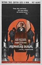 Premature Burial Poster 02 Metal Sign A4 12x8 Aluminium