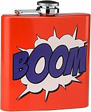 Premier Housewares Backform, 6 oz Flachmann, Boom