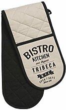 Premier Housewares Bistrotisch Kitchen Doppelter Topfhandschuh, Beige