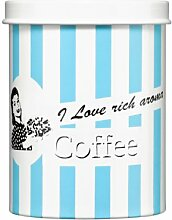 Premier Housewares Candy Stripe Kaffeedose blau