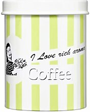 Premier Housewares Candy Stripe Kaffeedose grün