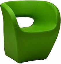 Premier Housewares Design-Sessel Aldo Modern Apfelgrün