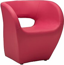 Premier Housewares Design-Sessel Aldo Modern Hot Pink