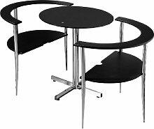 Premier Housewares Esstisch- und Stuhl-Set Love,