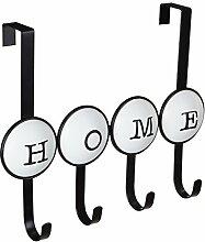 Premier Housewares Hakenleiste mit 4 Haken, zum