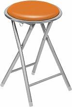Premier Housewares Klapphocker, Orange