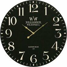 Premier Housewares Klassische Wanduhr, 60 cm,