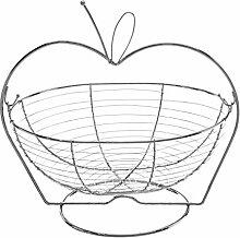 Premier Housewares Korb von Obst Chrom, Draht