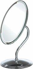 Premier Housewares Schwenkbarer Tischspiegel oval