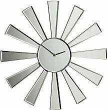 Premier Housewares Spiegel 50 cm, sternförmige Wanduhr