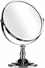 Premier Housewares Tischspiegel 15cm Chrom