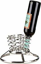 Premier Housewares Weinregal für 6 Flaschen, Chrom