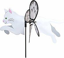 Premier Kite pkgipwca Wetterhahn Katze, weiß, 48x 32x 70cm