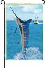 Premier Kites 12in Garten Flagge–Sport