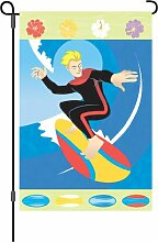 Premier Kites 51617Garten Flagge, Sunshine