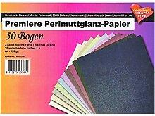 Premiere Perlmuttglanz-Papier, DIN A4, 10 Farben,