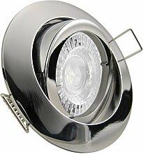 PREMIO LED 5er Set 7,5W dimmbar 230V GU10 Decken