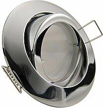 PREMIO LED 8er Set 6W dimmbar 230V GU10 Decken