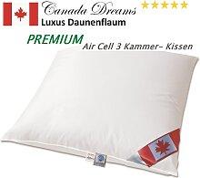 Premium Air Cell 3-Kammer Kissen ca. 800g 100%