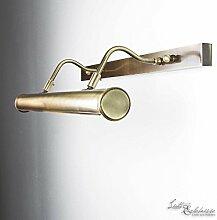 Premium Bilderleuchte 60cm Messing bronziert E14