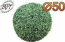 PREMIUM Buchsbaum, große Buchsbaumkugel Ø 50 cm 500 mm grün dunkelgrün , ohne Echtholzstamm (Zubehör Mailanfrage), und Deko Efeuranke + Moos auf Wunsch mit Solarbeleuchtung SOLAR LICHT BELEUCHTUNG (Zubehör) , ohne Terracotta Topf Plastik und stabilem Fuß (Zement) Kunstpflanzen stabile Dekobäumchen künstliche Bäume Bäumchen Kugel Buxbaumkugel + Solarlicht LED Lampe 2 Lampen Lichterbaum Kunstblume Außen- und Innendekoration Balkonsichtschutz Balkon Pflanzen Sichtschutz
