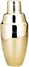 Premium Cocktail Shaker in Silber Spiegel/Kupfer