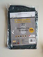 Premium Cover, Schutzhülle für Gasflasche, Size M, 5 Kg, Grün