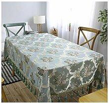 Premium Damast Jacquard Tischdecke, frische und