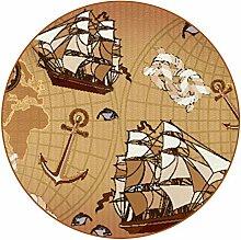 Premium Design Alte Kartenwelt Untersetzer 6er Set