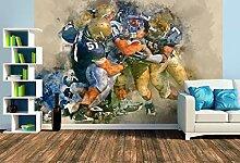 Premium Foto-Tapete American Football