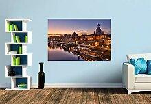 Premium Foto-Tapete Auf der Augustusbrücke mit