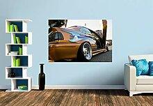 Premium Foto-Tapete BMW in Edeloptik (versch.