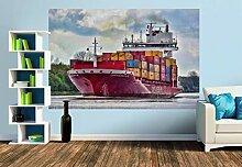 Premium Foto-Tapete Containership VII
