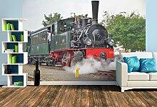 Premium Foto-Tapete Dampf-Lok HOYA 3341