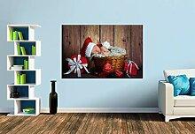 Premium Foto-Tapete Der kleine Weihnachtsmann