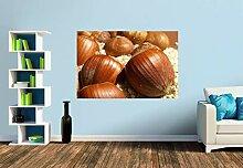 Premium Foto-Tapete Für den Nusskuchen