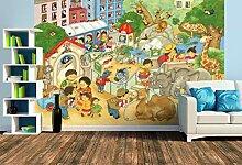 Premium Foto-Tapete Kleiner Zoo (verschiedene