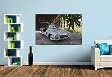 Premium Foto-Tapete Mercedes 300 SL Flügeltürer