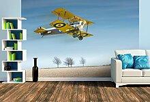 Premium Foto-Tapete Modellflugzeug in Aktion