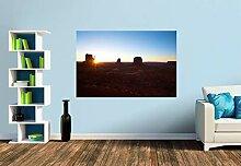 Premium Foto-Tapete Monument Valley/Sunset