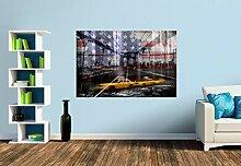 Premium Foto-Tapete NEW YORK CITY Collage