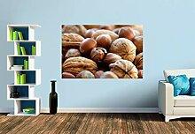 Premium Foto-Tapete Nüsse, nicht nur zur