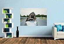 Premium Foto-Tapete Rasender Mops (verschiedene