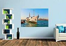 Premium Foto-Tapete Schiff auf dem Goldenen Horn