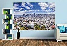 Premium Foto-Tapete Skyline vom Coit Tower