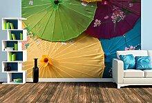 Premium Foto-Tapete Sonnenschirme (verschiedene