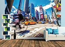 Premium Foto-Tapete Times Square (verschiedene