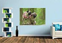 Premium Foto-Tapete Waldmopsmädchen (verschiedene